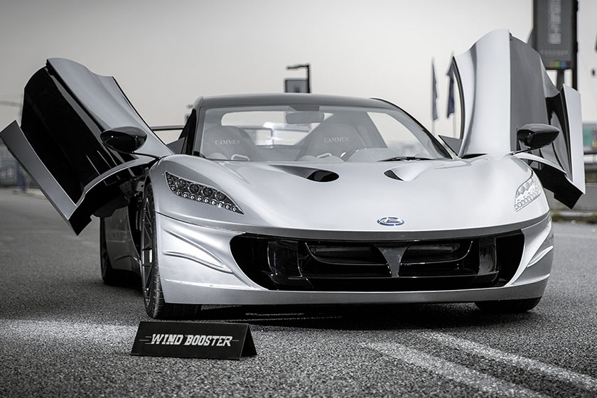 electric supercar