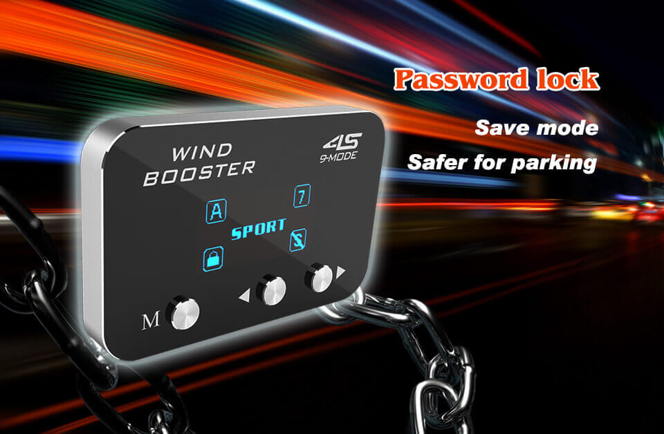 windbooster 9-mode throttle controller how to use
