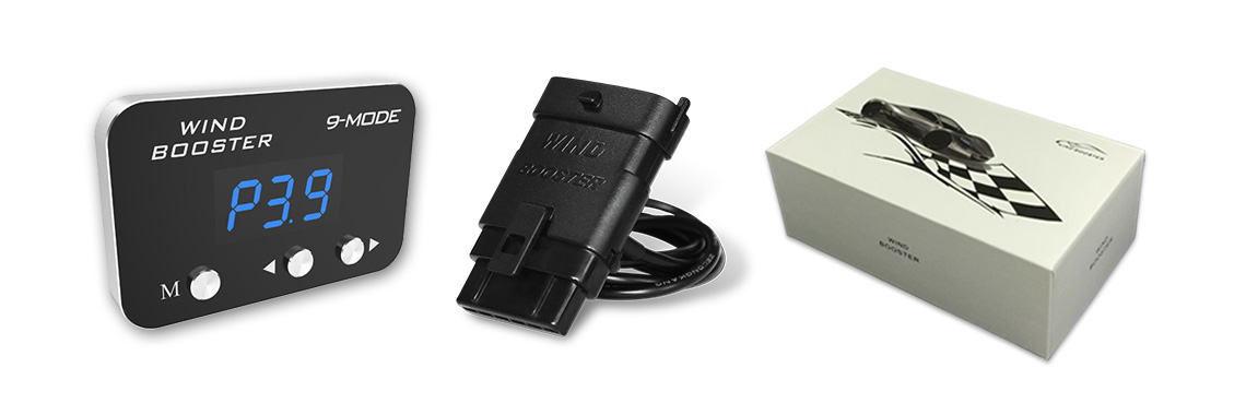 Ultrathin Windbooster to suit Infiniti QX70 9-MODE 3s Throttle Controller