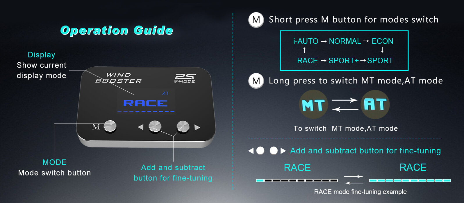 9mode 2s operation guide