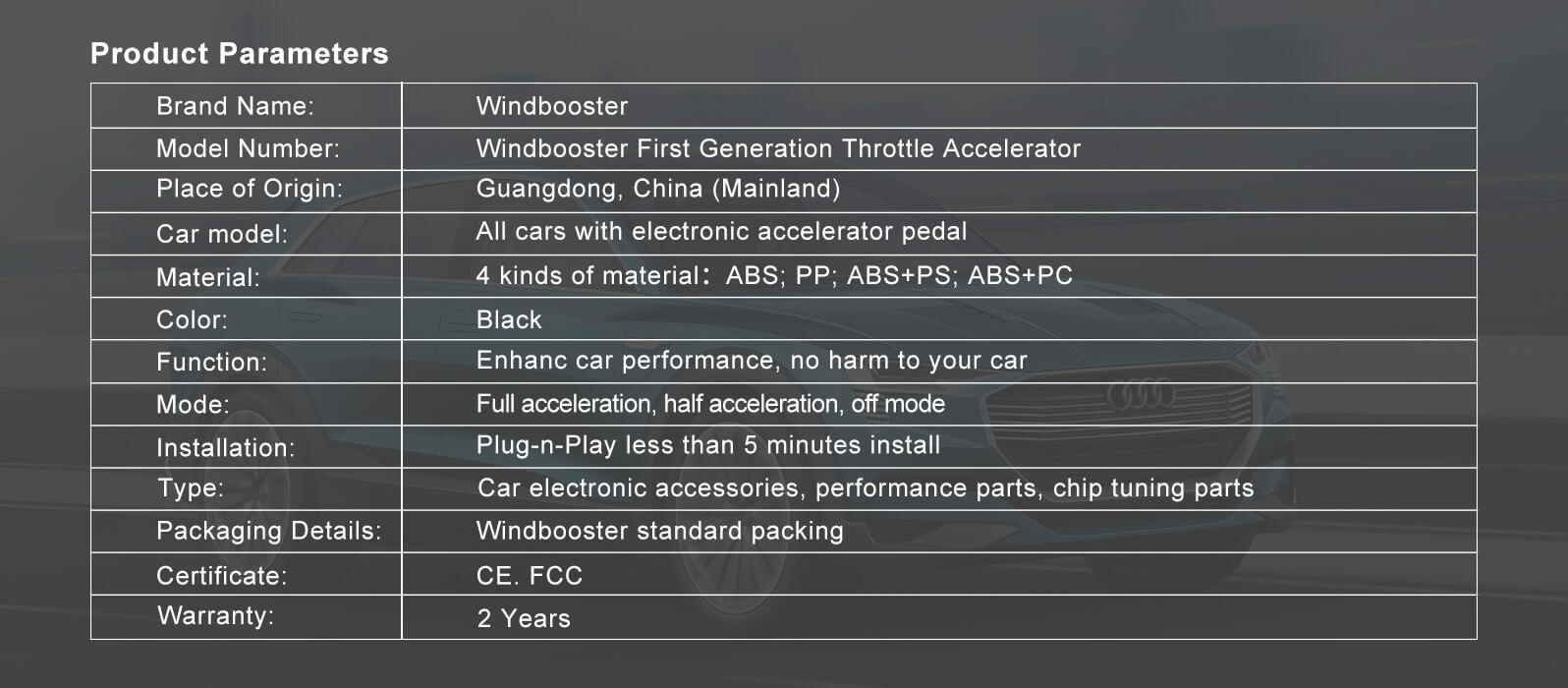 throttle accelerator5